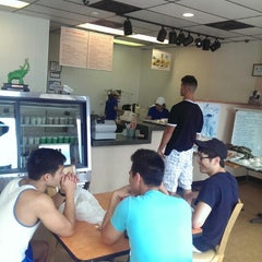 Photo taken at Banh mi Saigon sandwiches & bakery by Michael L. on 7/19/2014