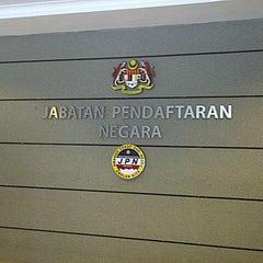 Photo taken at Jabatan Pendaftaran Negara (JPN) by fadli on 11/28/2012