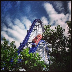 Photo taken at Millennium Force by Anthony R. on 7/15/2013
