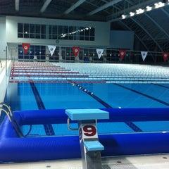 Photo taken at 29 Ekim Olimpik Yüzme Havuzu by It's my lıfe.. on 1/4/2013