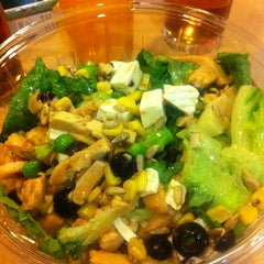 Photo taken at Day Light Salads by Karla E. on 3/7/2014