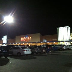 Photo taken at Meijer by Donald V. on 1/19/2013