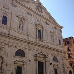 Photo taken at Chiesa di San Luigi dei Francesi by Richard Y. on 7/25/2013