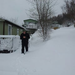 Photo taken at Kippford Holiday Lodges by Janette S. on 3/23/2013