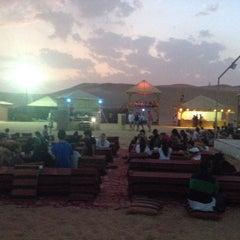 Photo taken at Safari Desert Camp by Yagmur O. on 9/11/2015