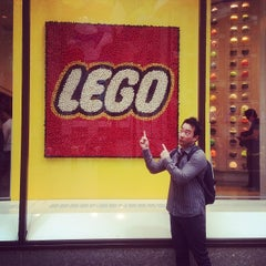 Photo taken at The LEGO Store by Terence S. on 10/7/2013