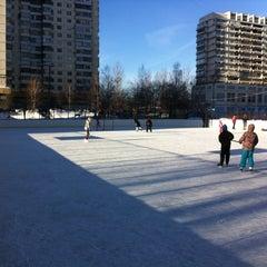 Photo taken at Хоккейная Коробка by Ivan K. on 1/26/2013