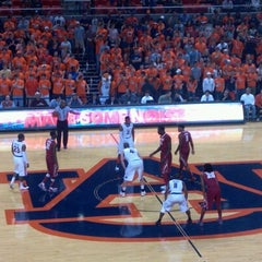 Photo taken at Auburn Arena by Tracy C. on 2/7/2013