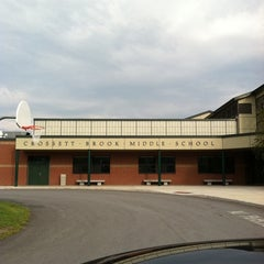 Photo taken at Crossett Brook Middle School by Kayne on 8/21/2011