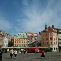 Photo taken at Vecrīga | Старая Рига | Riga Old town by Lexx on 7/13/2013