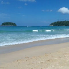 Photo taken at หาดกะตะ (Kata Beach) by Alexander R. on 11/2/2012
