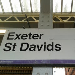 Photo taken at Exeter St Davids Railway Station (EXD) by Danil B. on 11/3/2012