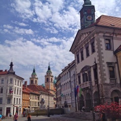 Photo taken at Ljubljana by Santyago on 6/15/2015