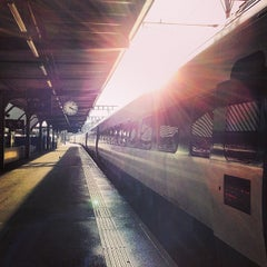 Photo taken at Gare de Genève Cornavin by Casey L. on 2/6/2013