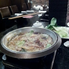 Photo taken at Posh Charcoal Dining by Min Ji C. on 12/1/2012