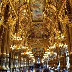 Photo taken at Opéra Garnier by Quentin C. on 10/13/2013
