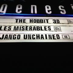 Photo taken at Genesis Cinema by Ra on 1/23/2013