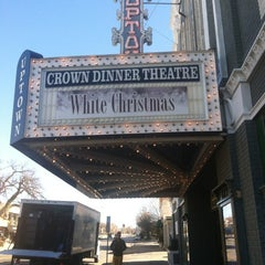 Photo taken at Crown Uptown Theatre by Erin O. on 12/10/2012