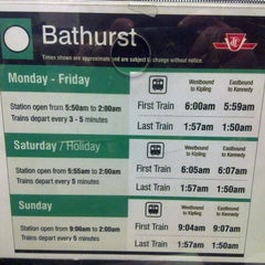 Photo taken at Bathurst Subway Station by Marco R. on 2/12/2013