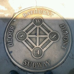 Photo taken at Bathurst Subway Station by Marco R. on 10/10/2012
