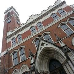 Photo taken at Kirkland Hall - Vanderbilt by Jimmy N. on 12/10/2012