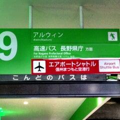 Photo taken at 松本バスターミナル by SIM1402 on 5/3/2013