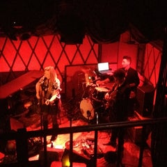 Photo taken at Rockwood Music Hall by Alan P. on 3/2/2013