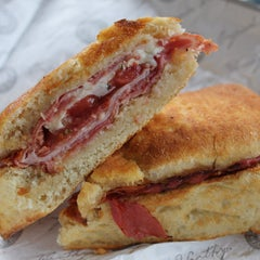 Photo taken at Earl of Sandwich by Eating WDW on 9/19/2012