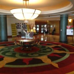 Photo taken at Detroit Marriott at the Renaissance Center by William B. on 5/2/2013