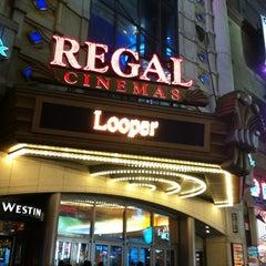 Photo taken at Regal Cinemas E-Walk 13 & RPX by Christian T. on 12/2/2012