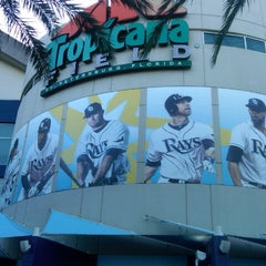 Photo taken at Tropicana Field by Rob S. on 5/6/2013