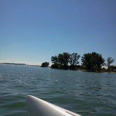Photo taken at Caladesi Island State Park by Carrie T. on 10/21/2013