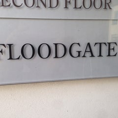 Photo taken at FLOODGATE by Nate M. on 10/27/2014