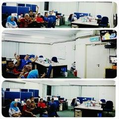 Photo taken at Capital TV by Diatie Z. on 5/25/2014