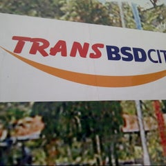Photo taken at Terminal Feeder Busway Trans BSD by Audra J. on 1/5/2013