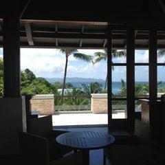 Photo taken at Shangri-La Boracay Resort and Spa by Lili M. on 3/27/2013