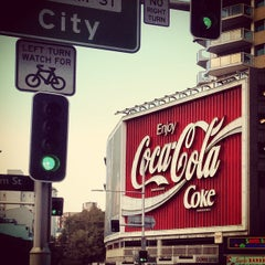 Photo taken at The Coca-Cola Billboard by Bradley H. on 4/7/2013