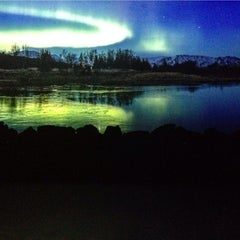 Photo taken at Aurora Borealis by Яна Ю. on 1/4/2014