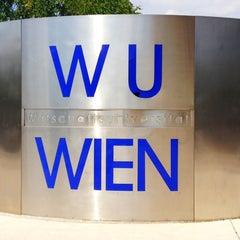 Photo taken at Wirtschaftsuniversität Wien by Syu_As on 7/18/2013