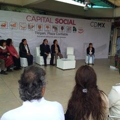 Photo taken at Pabellón Esmeralda by Pixelita d. on 10/3/2014