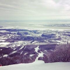 Photo taken at Mont-Sainte-Anne by Artur M. on 2/13/2013