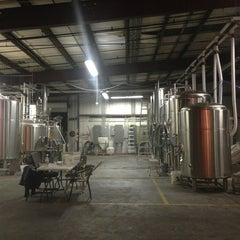 Photo taken at Due South Brewing Co. by Jonathan D. on 1/27/2013