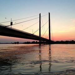 Photo taken at Rheinufer by Claudia H. on 6/6/2013