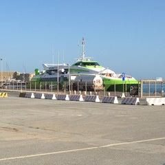 Photo taken at Λιμάνι Ηρακλείου by Adam N. on 5/24/2013