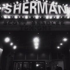Photo taken at Sherman Theater by Kim M. on 5/15/2015