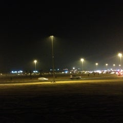 Photo taken at Al Warqa Roundabout by Abdulla A. on 11/8/2012