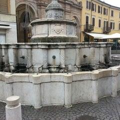 Photo taken at Fontana della Pigna by Alessandro B. on 12/27/2012