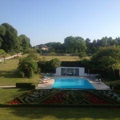 Photo taken at Manoir de Benerville by Nicolas R. on 7/14/2013