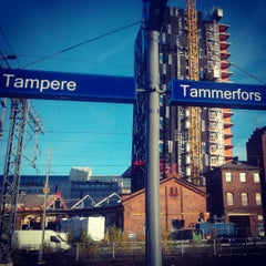 Photo taken at VR Tampere by Tero M. on 10/14/2013
