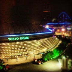 Photo taken at 東京ドーム (Tokyo Dome) by Bhanhan J. on 8/12/2013